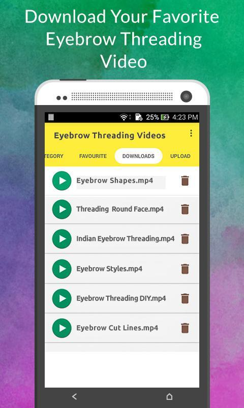 Eyebrow Threading Videos For Android Apk Download