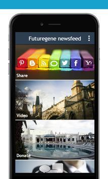 FUTUREGENE newsfeed screenshot 1