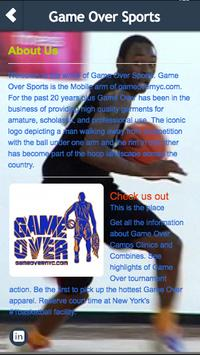 Game Over Sports apk screenshot