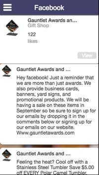 Gauntlet Awards screenshot 1