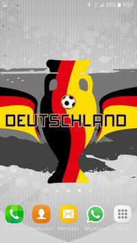 Deutschland Wallpaper EURO 16 poster