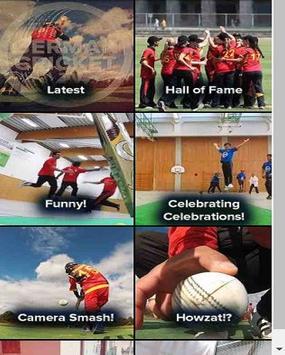 German Cricket TV poster