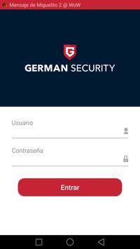 German Security poster
