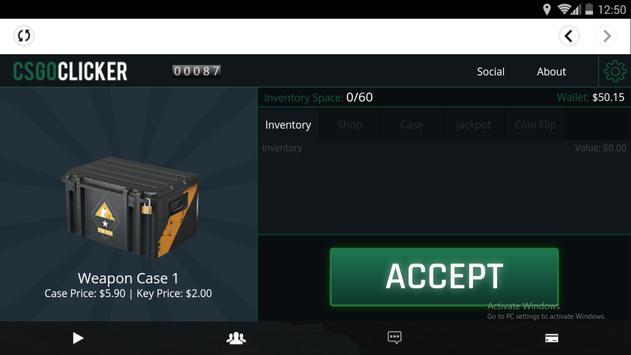 GOClicker screenshot 2