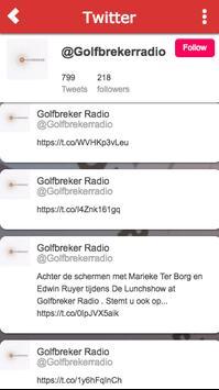 GolfbrekerRadio screenshot 5