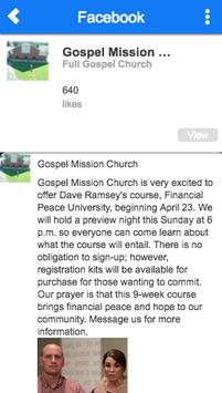 Gospel Mission Church apk screenshot
