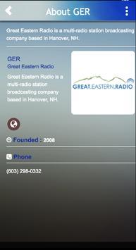 Great Eastern Radio screenshot 1
