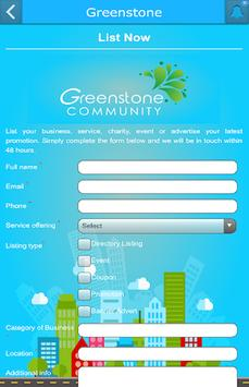 Greenstone screenshot 2