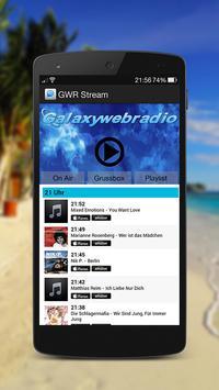 Galaxywebradio screenshot 1
