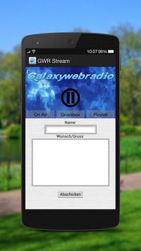 Galaxywebradio screenshot 2