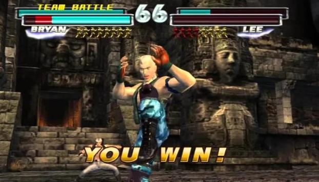 CHEATS TEKKEN 4 &5 GUNNING FOR screenshot 2