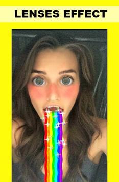 Guide Lenses for snapchat captura de pantalla 1