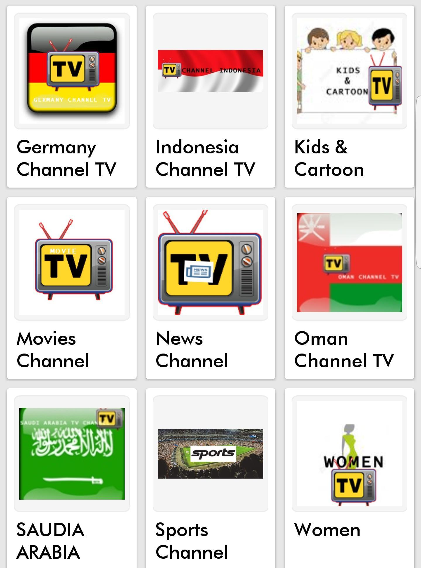 ALL TV ONLINE IN THE WORLD for Android - APK Download