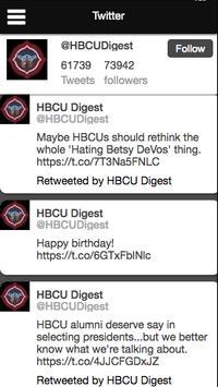 HBCU Digest screenshot 1