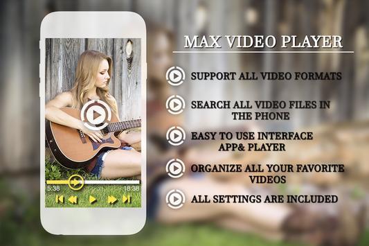 HD Max Player apk screenshot