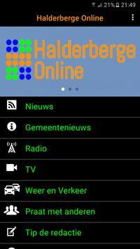 Halderberge Online app poster