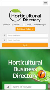 Horticultural Directory apk screenshot