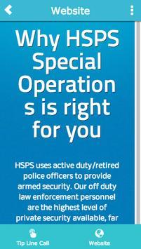 HSPS TIP LINE apk screenshot