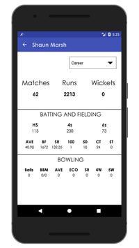 Schedule & Info of KXIP Team apk screenshot