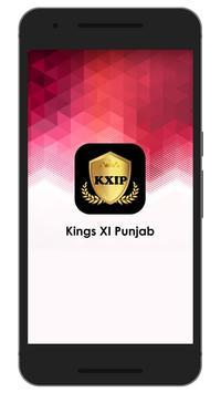 Schedule & Info of KXIP Team poster