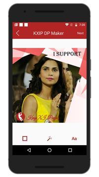 Support IPL KXIP Team DP Maker screenshot 4