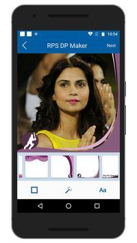 Support IPL RPS Team DP Maker apk screenshot