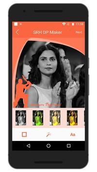 Support IPL SRH Team DP Maker screenshot 3