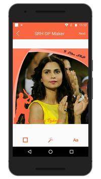 Support IPL SRH Team DP Maker screenshot 4