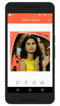 Support IPL SRH Team DP Maker screenshot 5