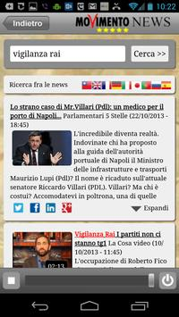 M5S News (+LaCosa Player) apk screenshot