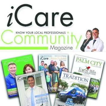 iCare Community Magazine poster