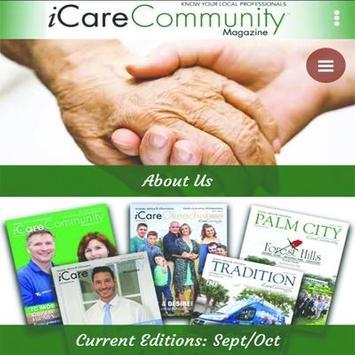 iCare Community Magazine screenshot 1
