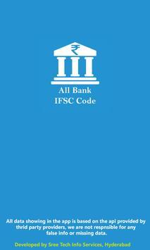 IFSC CODE FINDER poster
