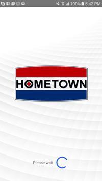 Hometown Gas Rewards poster