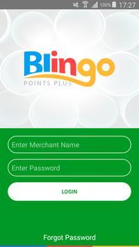 Blingo Points Merchant poster