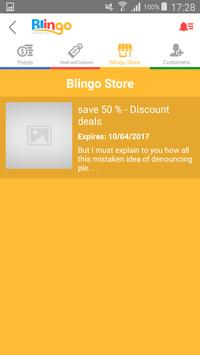 Blingo Points Merchant apk screenshot