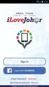 iLoveJohor poster