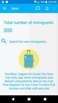 Immigrants screenshot 1
