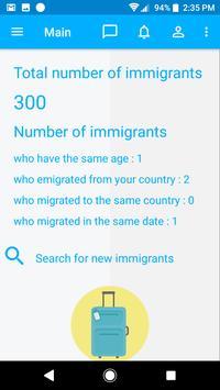 Immigrants screenshot 2