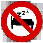 Impossible to sleep icon