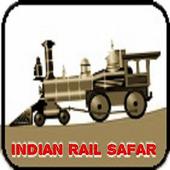 Indian Rail Safar- Live train Status, pnr, fare icon