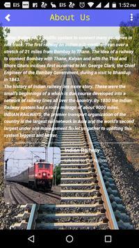 Indian Rail Safar- Live train Status, pnr, fare apk screenshot