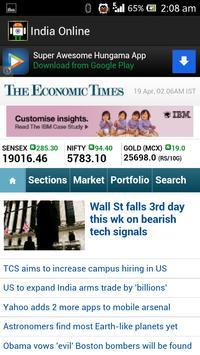 India Online apk screenshot