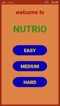 NUTRIO GAME poster