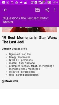Pistar - Reading English Everyday apk screenshot
