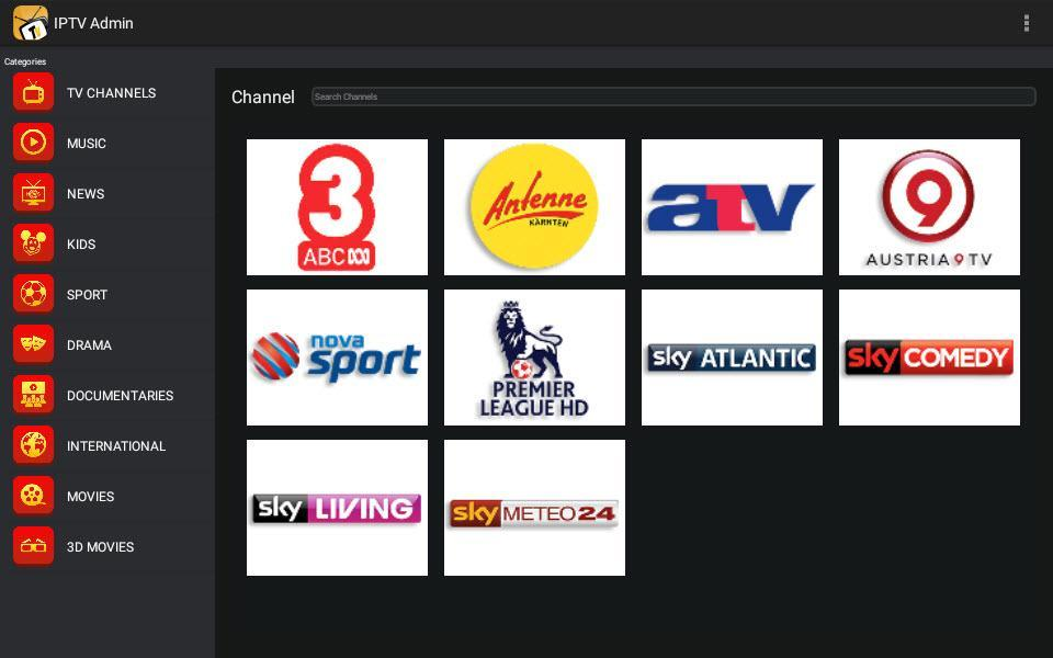 IPTV Admin for Android - APK Download