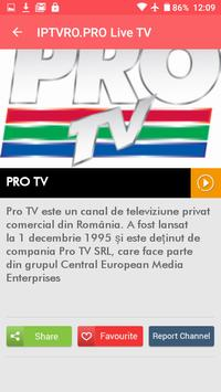 Iptv RO TV Romania apk screenshot
