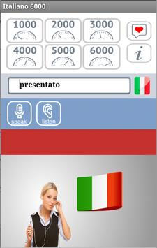 Italiano 6000 screenshot 3