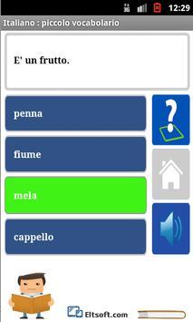 Learn Italian apk screenshot