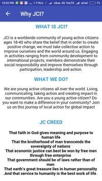 JCI JETPUR poster